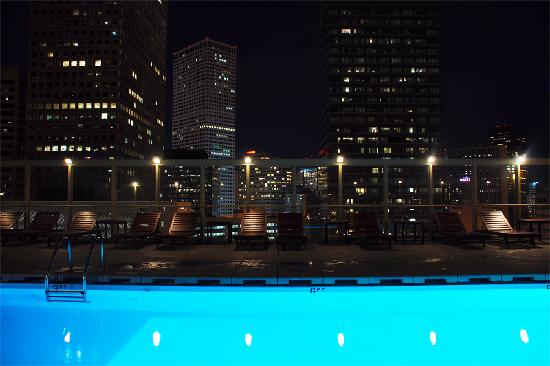 Warwick Denver Hotel: Rooftop pool offers amazing city views