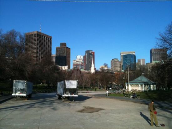 Bilde fra Boston Public Garden