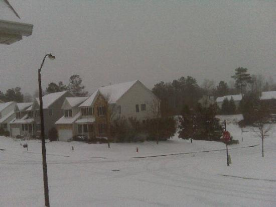 Raleigh, Carolina del Norte: The 'hood...at about 8:00am Saturday morning