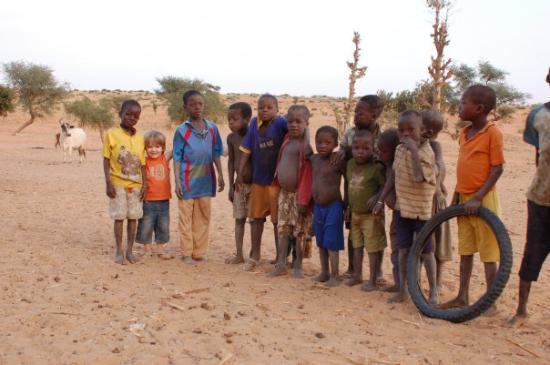 Bandiagara, Mali: Noah au Mali Janvier 2009