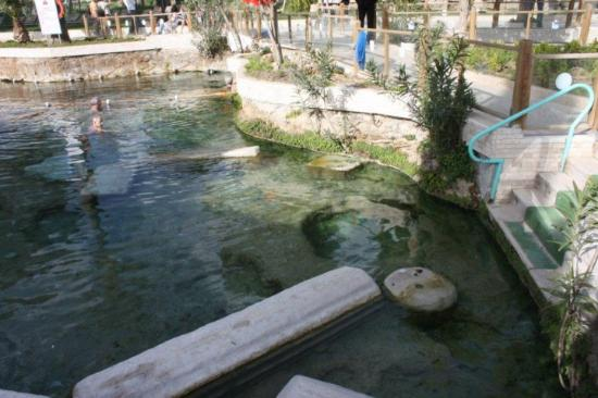 Cleopatra Pools: The Ancient Pool aka Cleopetra Pool aka Thermal Bath...