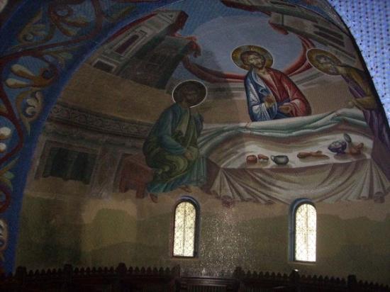 Cluj-Napoca, Rumania: Todas las bóvedas en las capillas laterales estaban hechas en mosaicos