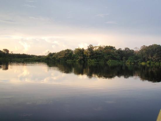 Leticia, Kolombiya: el atardecer