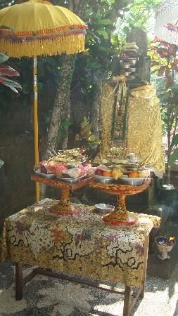 Kebun Indah: One of several Hindu shrines throughout the property