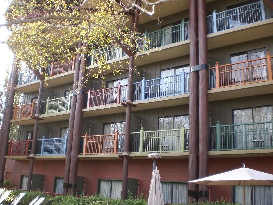 Disney's Animal Kingdom Lodge: The rooms with balconies