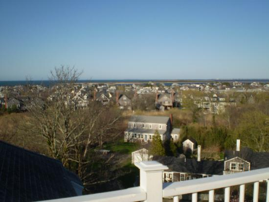 Cliff Lodge: Beautiful ocean views from roofdeck
