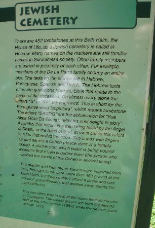 Paramaribo, Suriname: Cemetery Information