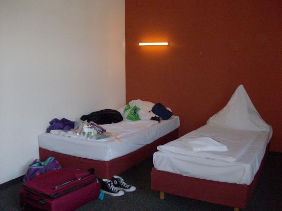 Hotel 103: our room!