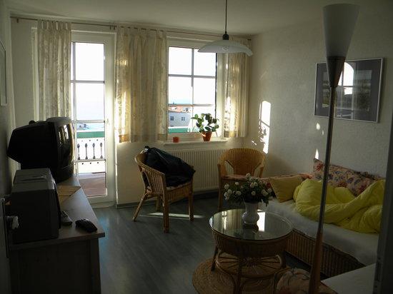 Seeblickvillen Rugen: Living room