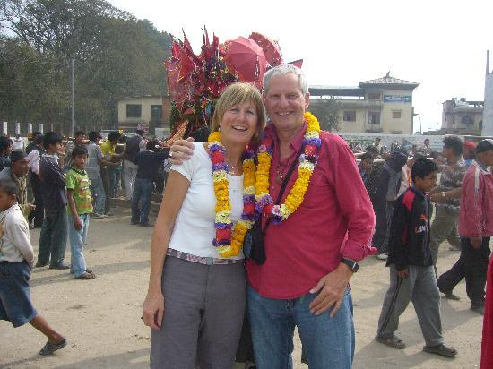 Asmita Bed & Breakfast: arriving in Kathmandu