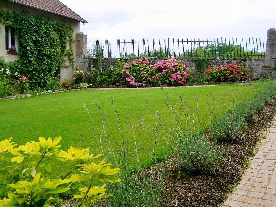 Chambres d'hôtes en Bourgogne : Cour intérieure