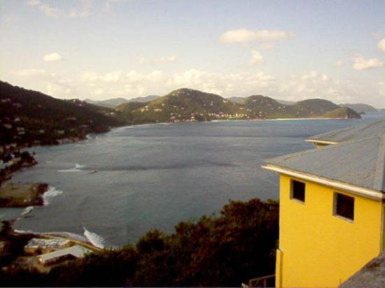 Road Town, Tortola: The route we took was very hilly and quite rugged, as evidenced by these views of Carrot Bay