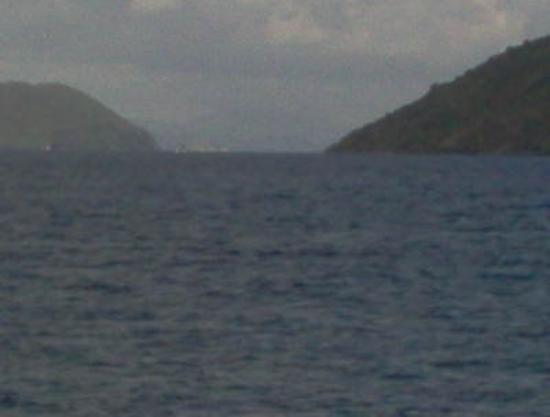 Road Town, Tortola: The Sir Francis Drake Channel, with St. Thomas in the background