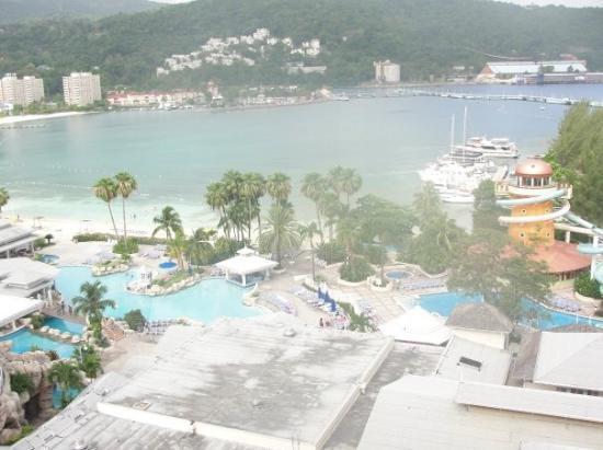 Ocho Rios, Jamaika: view from our room