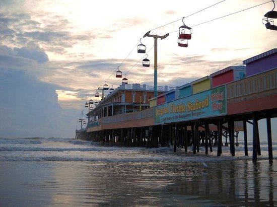 Daytona Beach Boardwalk And Pier Fl