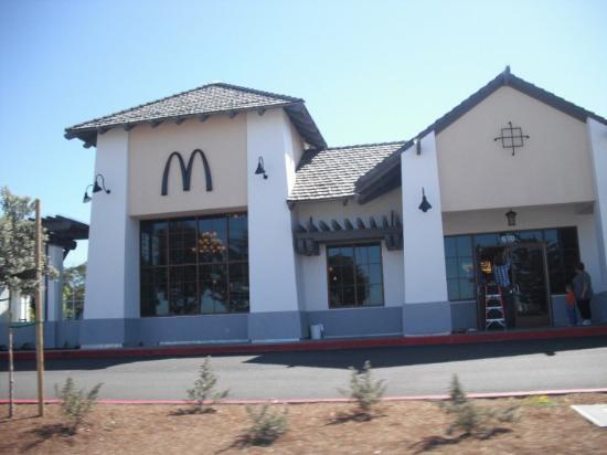 Monterey, Kalifornien: Black McDonald's????
