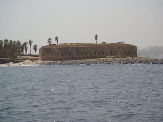 Dakar, Senegal: le fort de Gorée