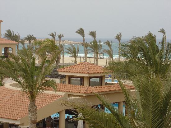 Jaz Almaza Beach Resort: Balcony view