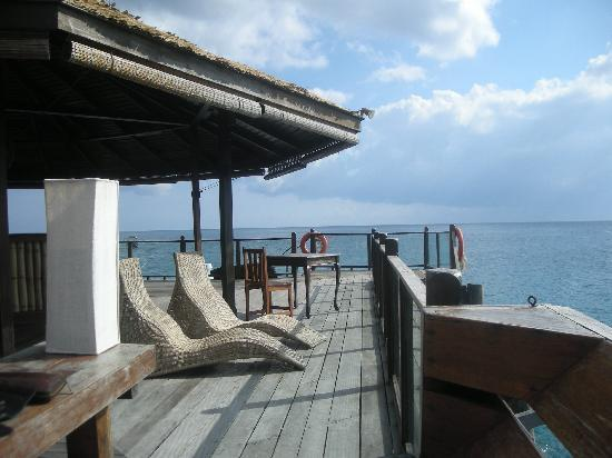 Japamala Resort - By Samadhi: Restaurant, jetty