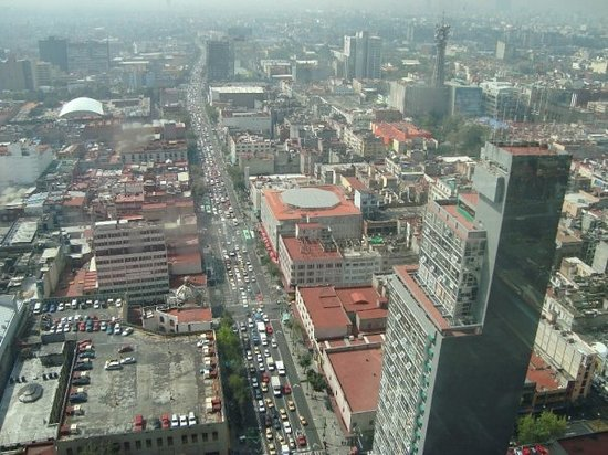 Mexico-Stad, Mexico: Mexico city - Views from the Torre Latinamerica