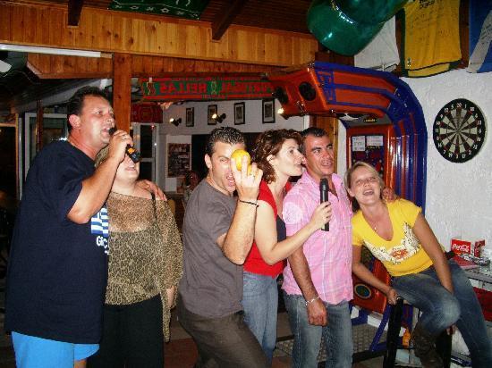 Happy Days Studios: Karaoke after the Bar-B-Q night