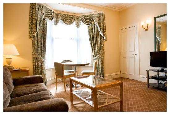 Skene House Whitehall: Whitehall superior suite lounge