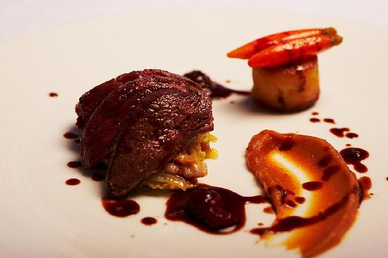Lumiere: Balmoral Venison with Chocolate Sauce