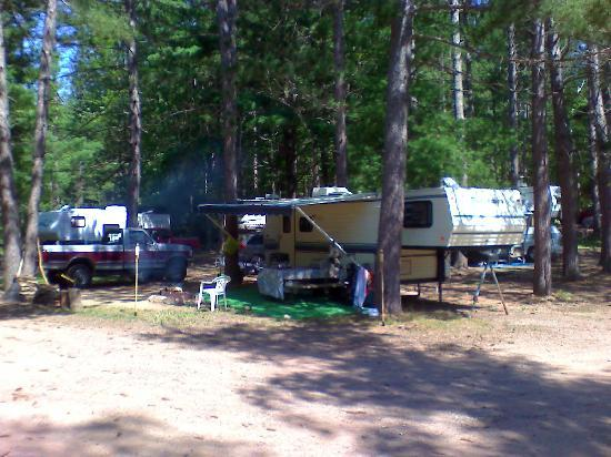 Reel Livin' Resort and Campground: Camping