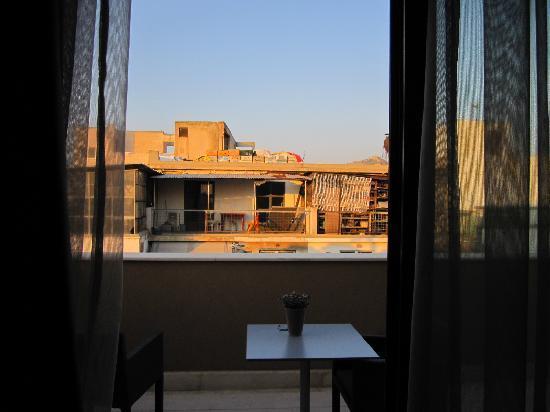 โรงแรมบูติคโอ & บีเอเธนส์: Acropolis View  de notre chambre - !!!