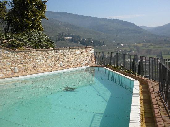 La Bastiglia: swimming pool