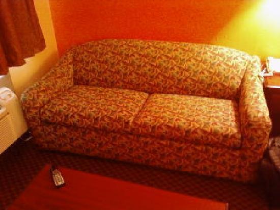 Best Western Northpark Inn: sofa in room