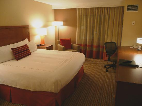 Crowne Plaza Atlanta-Peachtree Conference Center: This was my guestroom.