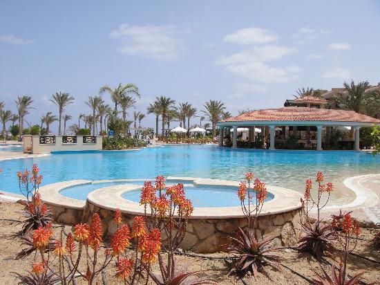 Jaz Almaza Beach Resort : Beautiful pool area