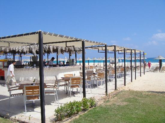 Jaz Almaza Beach Resort: One of many beach bars