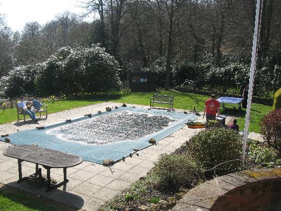 Arundel Holt Court: The swimming pool & ping-pong table