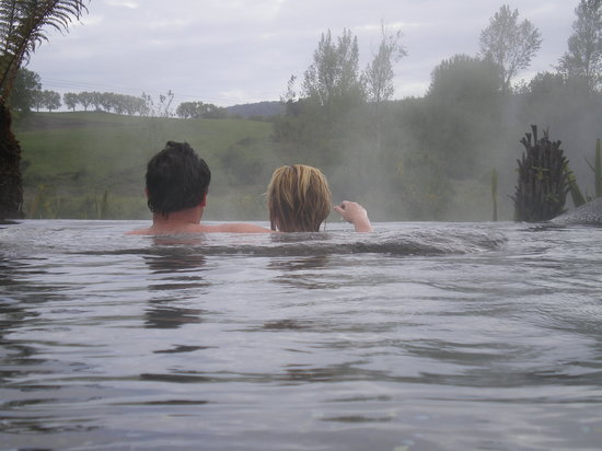 Waikite Valley Thermal Pools: The infinity pool