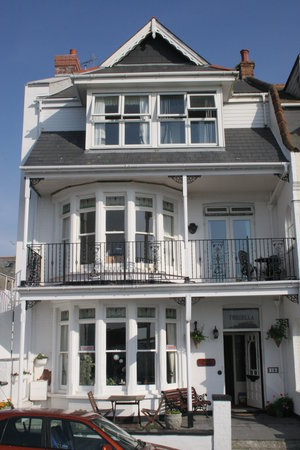 Tregella Guest House Newquay: Front of the Tregella