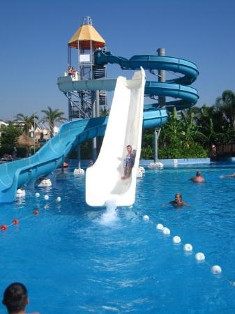 Sarigerme, Turki: Ace water slides