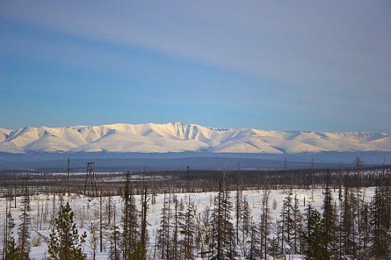 Murmansk, Russie : Khibiny