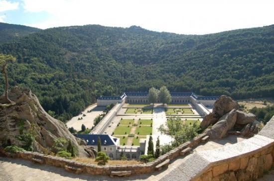 San Lorenzo de El Escorial, Spain: Valle de los Caidos, Espanha