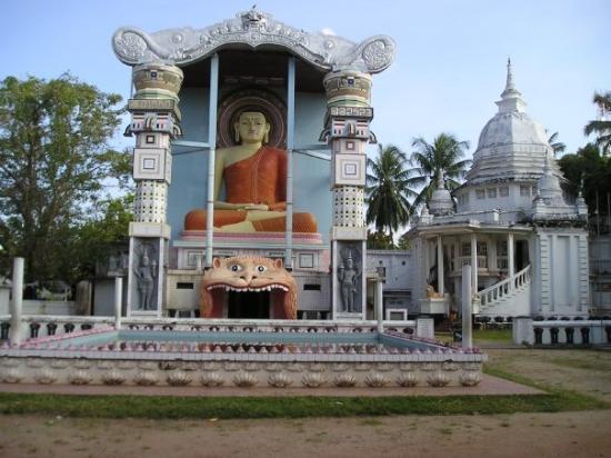 Negombo, Sri Lanka Temple