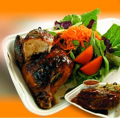 Mama's Rib's & Rotisserie: Ribs or Chicken to go!
