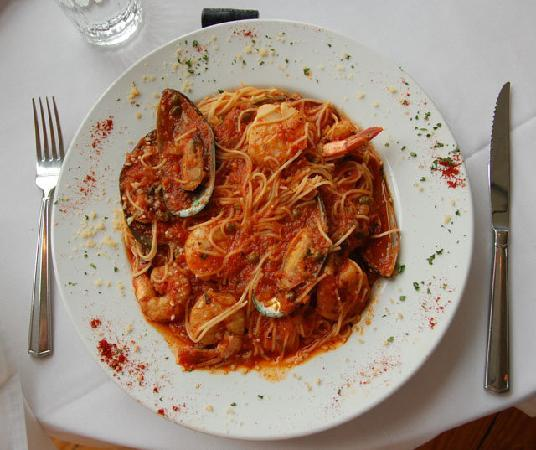 The Ideal Place: Seafood Pasta Special