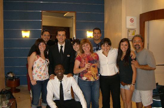 BEST WESTERN Hotel Spring House: Our group with the staff from the hotel