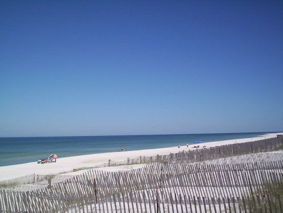 Cape San Blas, Flórida: The beach and dunes near Barrier Dunes