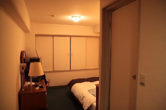 APA Hotel Hikone Minami: 玄関側から