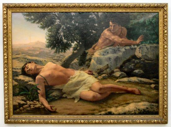 National Museum of Fine Arts: Cain murders Able