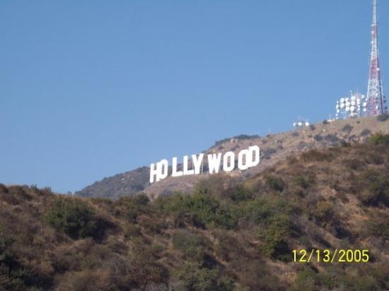 West Hollywood, CA: Hollywood sign