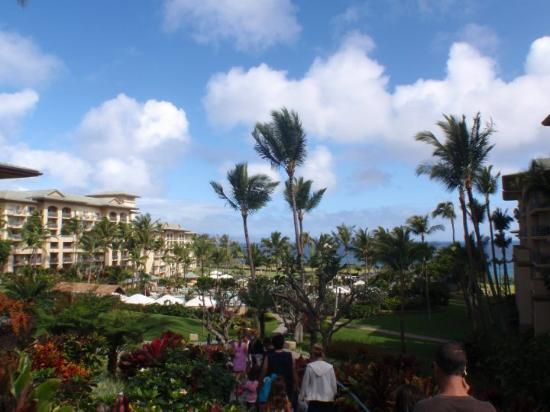 The Ritz-Carlton, Kapalua: see the troops headed to the easter egg hunt