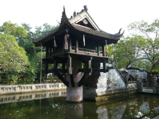 One Pillar Pagoda: Hanoi - Einsäulenpagode